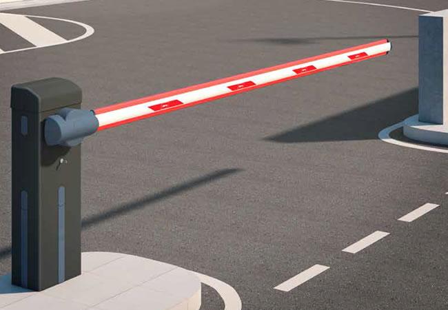 Automatización con barreras automáticas