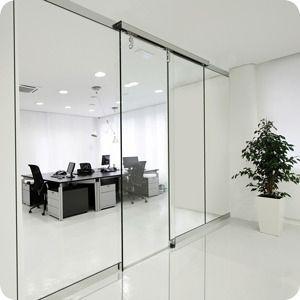 Puertas automáticas en oficinas