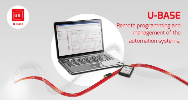 Managing remote controls is easy with U-Base.
